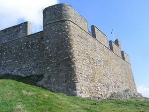 Hume Castle Wall