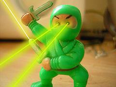 Ninja-like focus