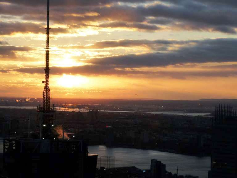 New York Sunset I captured from the Top of the Rock