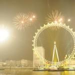 Fireworks London Eye