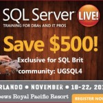 Winner – Conference Pass to SQL Server Live! in Orlando